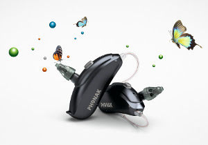 audeo V hearing aids from Phonak