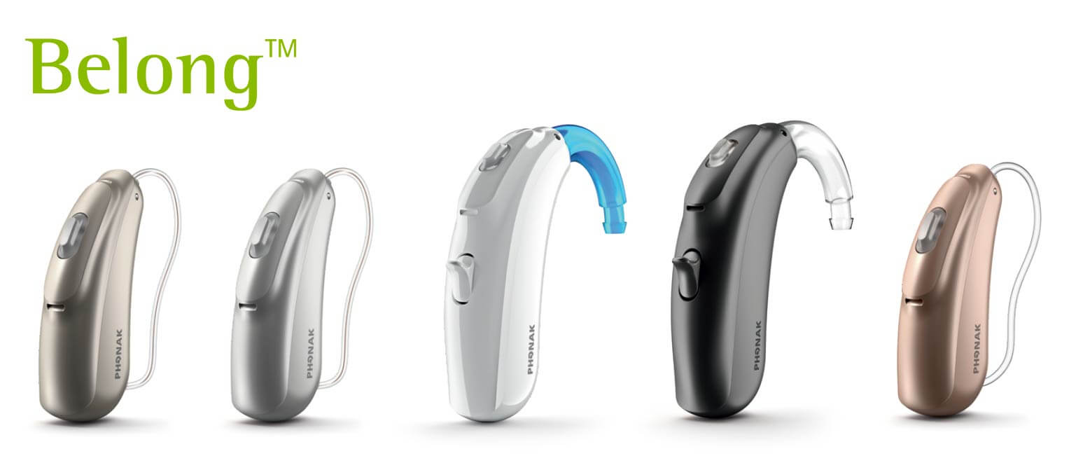 Phonak Belong rechargeable hearing aids