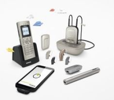phonak wireless hearing aid accessories