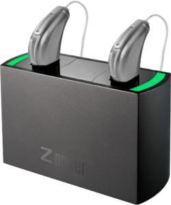 Zpower charged Muse hearing aids